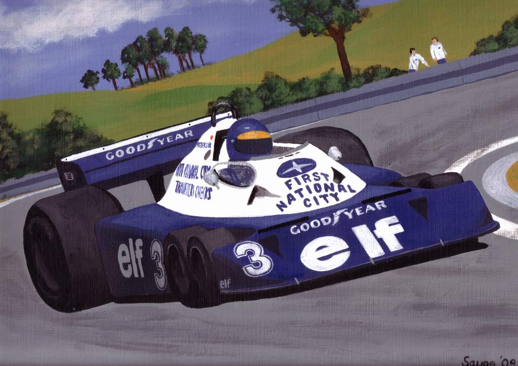 Pic:Ronnie Peterson P34
